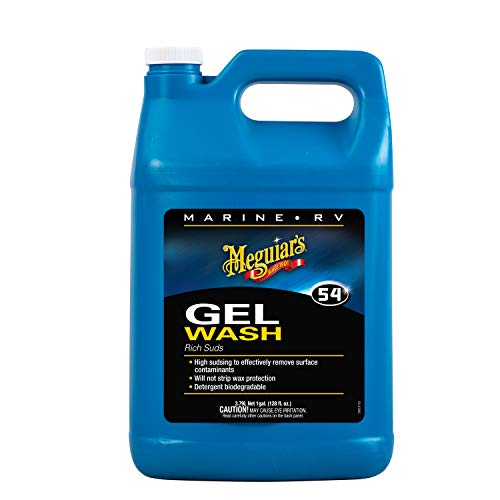 Meguiar's M5401 Marine/RV Gel Wash, 1 Gallon