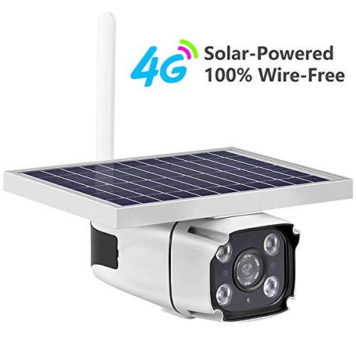 1080p HD zonne-camera veiligheid buitenshuis wifi met 64G TF-kaart intelligente waterdichte IP-audiokamera HD 4G