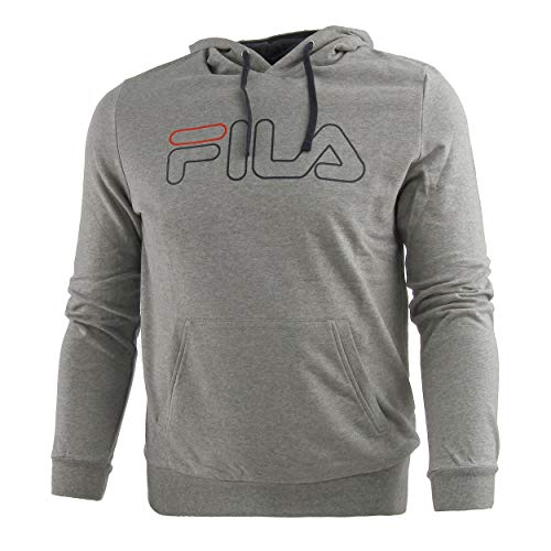 Fila Hombres William Hoody Grey Dark Blue M Oberbewear M