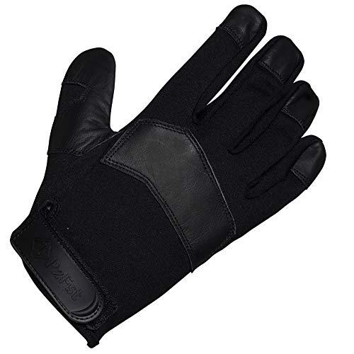 PzFst 8177 SpCFR Spezialkräfte-Handschuh mit Schnittschutz aus Kevlar, feuerfestem Nomex und Lederinnenhand/Militär und Polizei