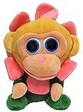 Wonder Park Chimpanzombie Plush Toy, Peluche Disfrazado, Figura de Tela para abrazar, Jugar y coleccionar, 27cm (Flor)