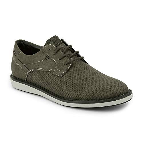 Dockers Mens Blake Casual Oxford Shoe, Charcoal, 11 M