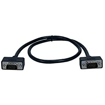 QVS 2  High Performance Ultrathin VGA/QXGA HDTV/HD15 Cable
