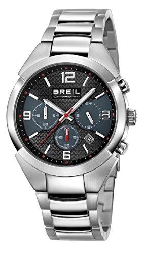 Breil Reloj Analógico para Hombre de Cuarzo con Correa en Acero Inoxidable TW1275