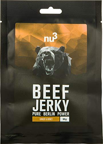 Carne seca de res - Beef Jerky original - 6x 50g - 53% de proteína -...