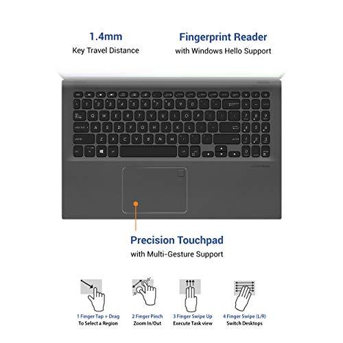 ASUS Expertbook P1 (P1504FA)-15.6 inch Notebook (Intel i5-10210U Processor, 8GB RAM, 1TB HDD, Windows 10 Pro)-P1504FA-EJ1811R