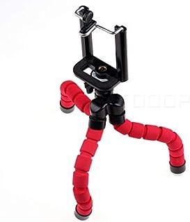 Tripod S, Premium Phone Tripod, Mini Flexible Sponge Octopus Tripod for Smartphone/Camera/Mobile/Cell Phone, Holder/Clip Stand with Wireless Remote Shutter