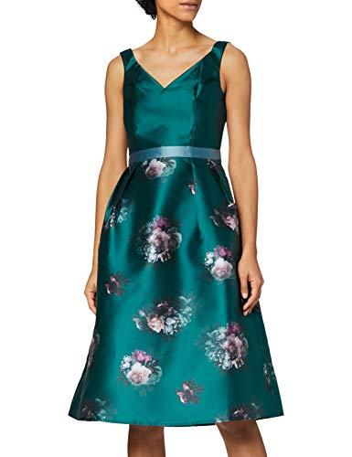 Chi Chi London Bridgette Vestito, Verde (Teal TL), 40 IT (Dimensioni Produttore:8) Donna