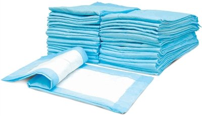 Dog Puppy 17x24 Pet Housebreaking Pad, Pee Training Pads, Underpads - Pack of 100