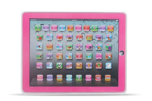NMIT - Y-Pad Touch Screen Pad Childrens Educational Learning Tablet Kids IPAD Computer Laptop For TODDLER CHILD Kids Toy PINK