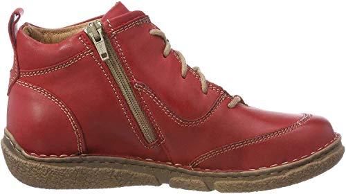 Josef Seibel Damen Neele 34 Stiefeletten, Rot (Rot 400), 44 EU
