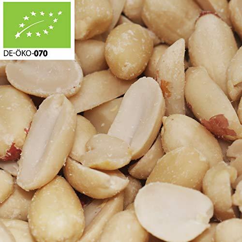 14,49€ (14,49€ pro 1kg) 1000g Bio Erdnusskerne, blanchiert Roh (Plastikfrei abgepackt , kompostierbare Verpackung )   1 kg   ✔ zum backen und kochen ✔ ungeröstet ✔ ungesalzen   STAYUNG - DE-ÖKO-070