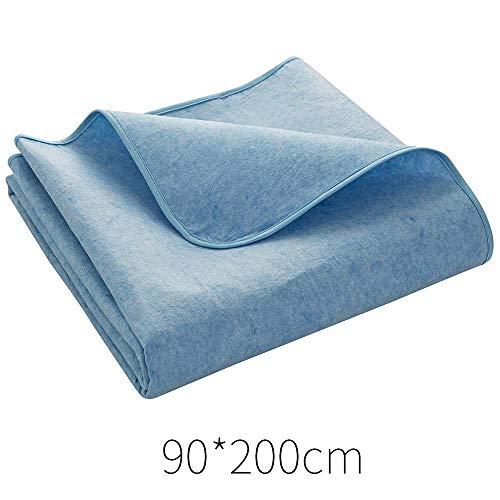 Bolange - Protector de colchón de absorción de humedad para el hogar, lavable