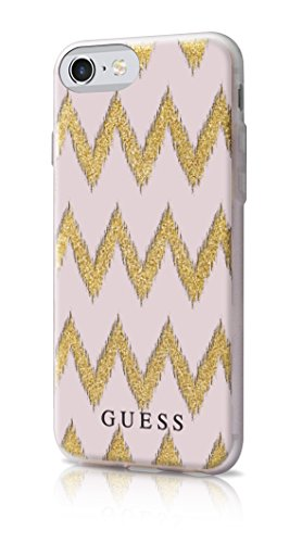 Guess GUHCP7CGPI Custodia per iPhone 7, Rosa