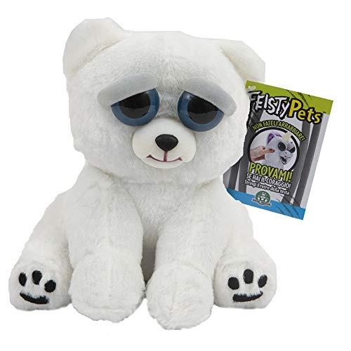 Giochi Preziosi Feisty Pets Plüsch Polar Mehrfarbig