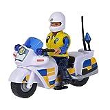 Sam Le Bompier - Moto Policía + 1 Figura
