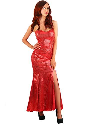 Women's Sultry Singer Fancy Dress Costume Medium