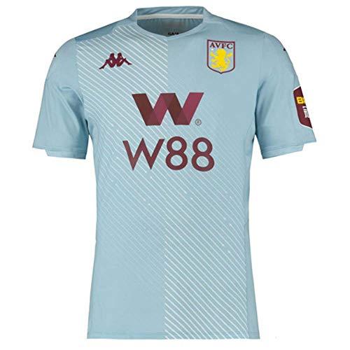 Kappa Aston Villa Erwachsene Trikot Away Short Sleeve Replica 2019/20, Herren, blau, XL Adults