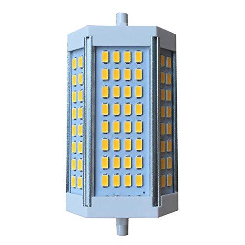 ZQYR Lamp# R7s Led Lampe Leuchtmittel 25W 118mm 110-240V Kaltes Weiß 6000K 360°Abstahlwinkel wie 125W Halogentube Licht für Wandlampe/Wandleuchte, Flutlicht 1-Stück,Cool White