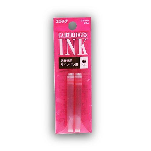 Platinum Preppy Fountain Pen Refill Pink
