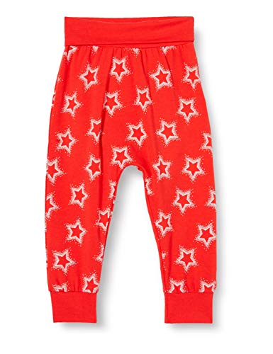 Fred'S World By Green Cotton Star Pants Short, Rouge signalisation, 56 Bébé Fille