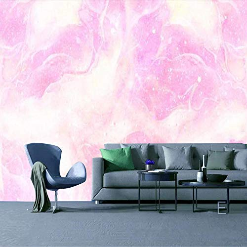 RTYUIHN 3D Wallpaper Mural Color Clouds Girl Bedside Bedroom Wallpaper Bedroom Living Room Modern Wall Art Decoration