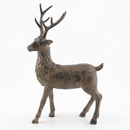 Kwoka hert staand bruin ca. 28 cm H | KW-259085-028-706 | 4049767374364.