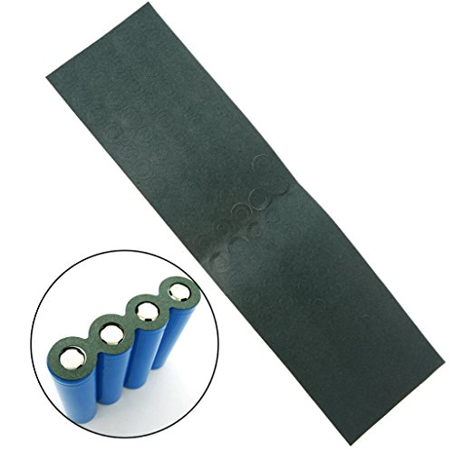 100Pcs/Lot 18650 Battery Anode Hollow Insulation Pad Pointed Barley Paper Gasket