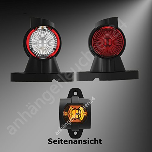 LED Begrenzungsleuchten Seitenleuchten Positionsleuchten LKW PKW Anhänger Wohnwagen (kurz)