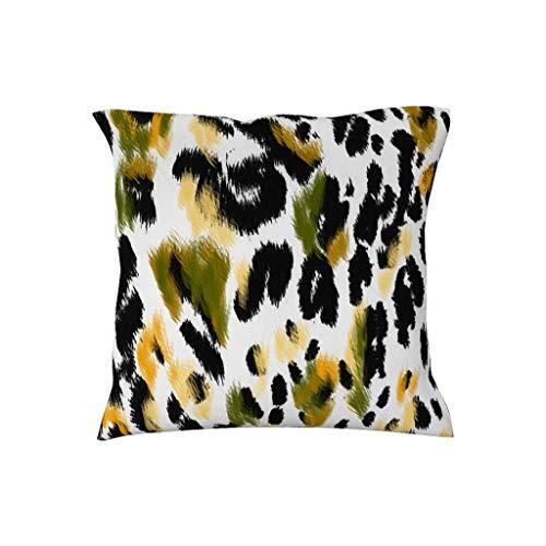 Dofeely luipaard thema decent design kussensloop sierkussen hoezen voor slaapkamer multiple styles punt