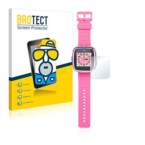 BROTECT Protector Pantalla Anti-Reflejos Compatible con Vtech Kidizoom Smart Watch DX (2 Unidades) Pelicula Mate Anti-Huellas