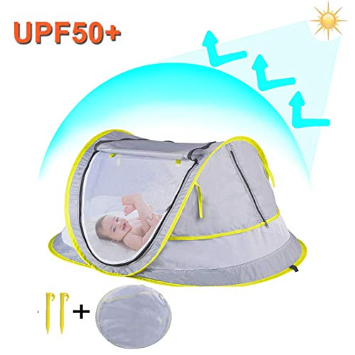 StillCool Cuna plegable portátil Pop Up Beach Tent Sun