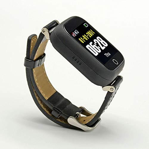 Prixton Smartwatch SENIOR G200 | GPS | chiamata di emergenza SOS | Cardiofrequenzimetro | Perfetto per gli anziani | 1.54  colori Touch screen