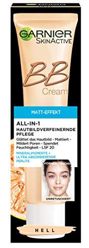 Garnier BB Cream Miracle Skin Perfector Matt-Effekt Hell, getönte Tagescreme mit Vitamin C und...