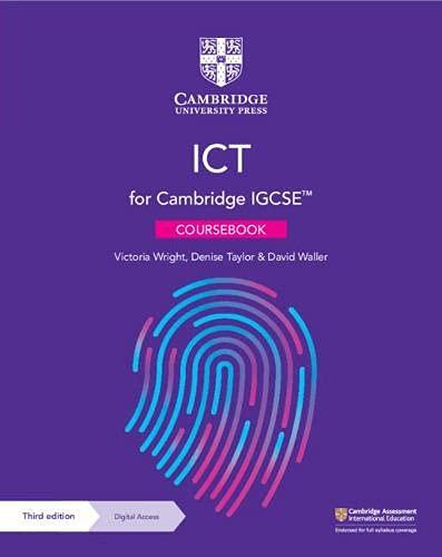 Cambridge IGCSE ICT Coursebook with Digital Access (2 Years)