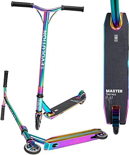 Stunt/Freestyle Scooter, Roller, Tretroller, Cityroller Raven Evolution Master 110mm (Neochrome)