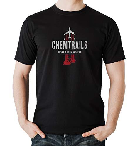 Certified Freak Chemtrails T-Shirt Boys Black XXL