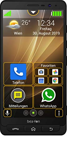 Beafon M5 Smartphone schwarz
