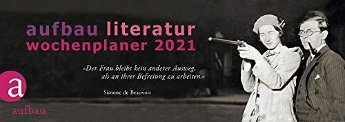 Aufbau Literatur Wochenplaner 2021: 15. Jahrgang