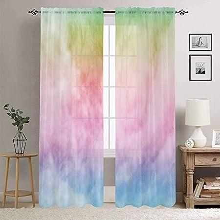 25 rod pocket Curtain drapery panels window treatment Dandelion White Candy Pink 25 x 84 custom curtain baby girls curtain nursery drapery