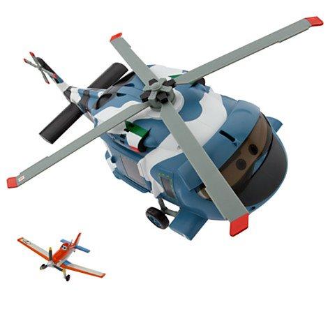 Disney - Helicóptero de juguete, modelo Hector Vector