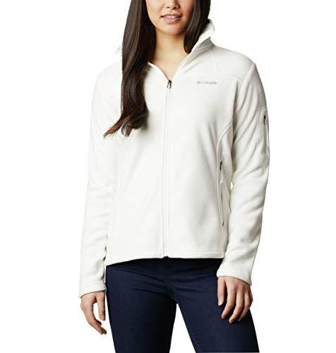 Columbia Fast Trek II Jacke für Damen, Weiß (Sea Salt), XL