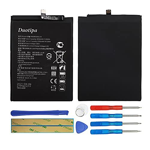 Duotipa Batería de repuesto HB386590ECW compatible con Honor 8X Nova 5T YAL-L21 AL-L71A batería con herramientas