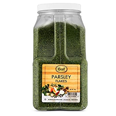 Gel Spice Parsley Flakes Food Service Size 16oz (1lb)