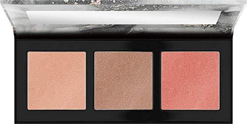 Catrice Luminice Highlight & Blush Glow Palette, Rouge, Nr. 010 Rose Vibes Only, mehrfarbig, aufhellend, strahlend, scheinend, vegan, Mikroplastik Partikel frei, Nanopartikel frei (12,6g)