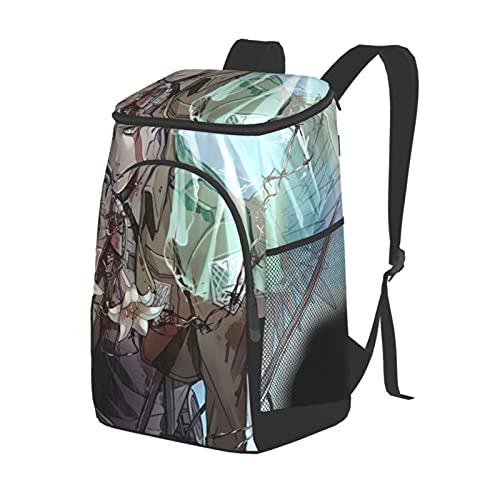 Mochila de aislamiento de doble hombro bolsa de hielo bolsa de picnic bolsa de almuerzo bolsas de comida