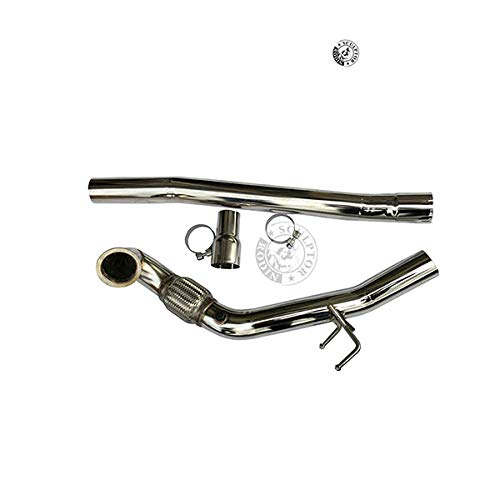 Turbo Catless Downpipe Exhaust for VW MK7 R20 2.0T Audi S3 2015 2016 K8-DP240