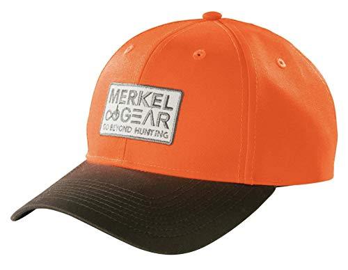 Merkel GEAR Blaze Cap Orange Braun Signalfarben