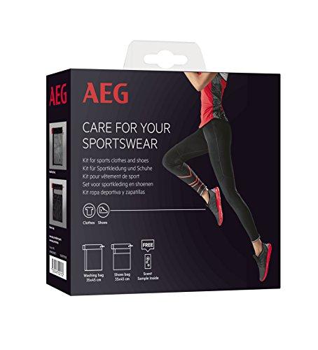 AEG A3WKSPORT1 Kit für Sportbekleidung und Schuhe/Herstellernummer: 9029797108 / 1x Schuh- und 1x Wäschebeutel für Waschmaschinen/Waschmaschinen Zubehör/Wäschenetz/Pflege der Sprotbekleidung