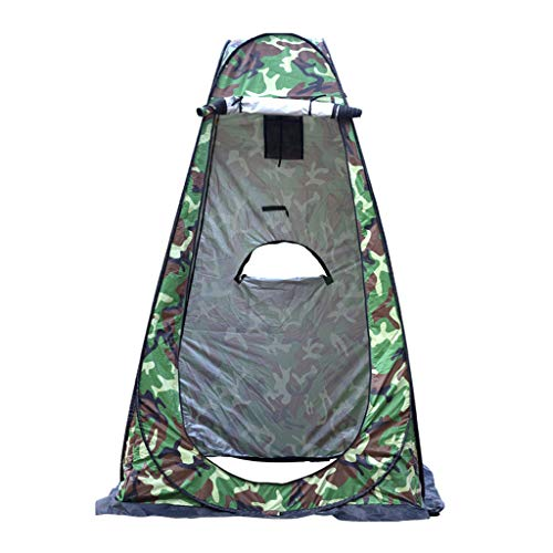 TTlove Camping Toilet Tent Pop Up Shower Privacy Tent for Outdoor Changing Dressing Fishing Bathing Storage Room Tents, Portable with Carrying Bag(A#Green,120X120X190CM)